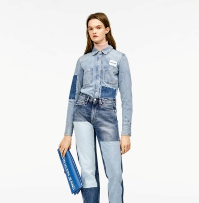 Calvin Klein jeans gets a Raf Simons make-over