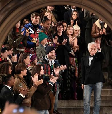 Ralph Lauren celebrates 50th anniversary