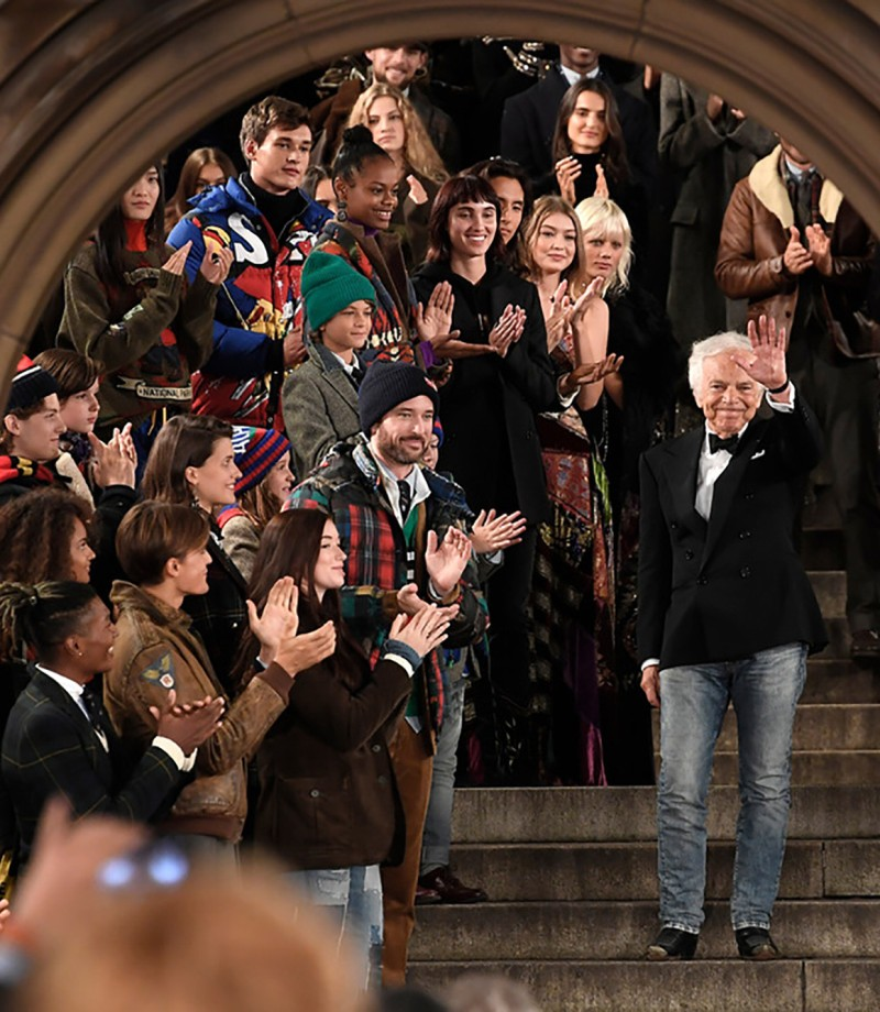 Ralph Lauren celebrates 50th anniversary
