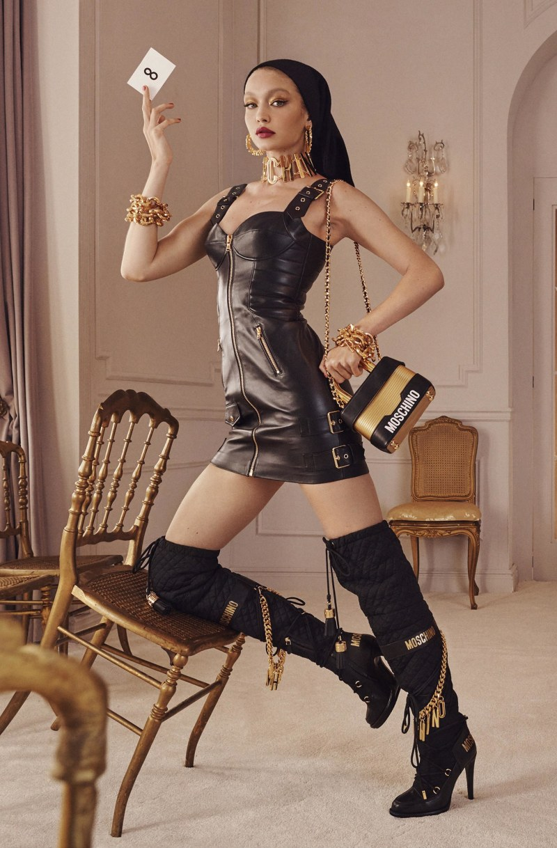 Moschino and H & M unveil campaign for new collection