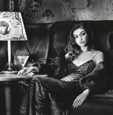Gigi Hadid and Alexander Wang star in the Pirelli calendar 2019