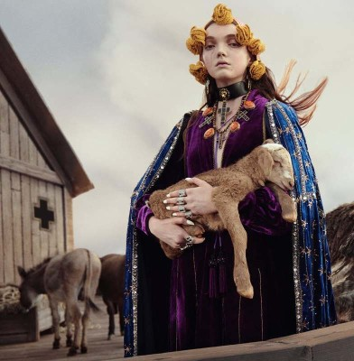 Gucci\'s Cruise 2019 Campaign is a contrast between Culture and Nature