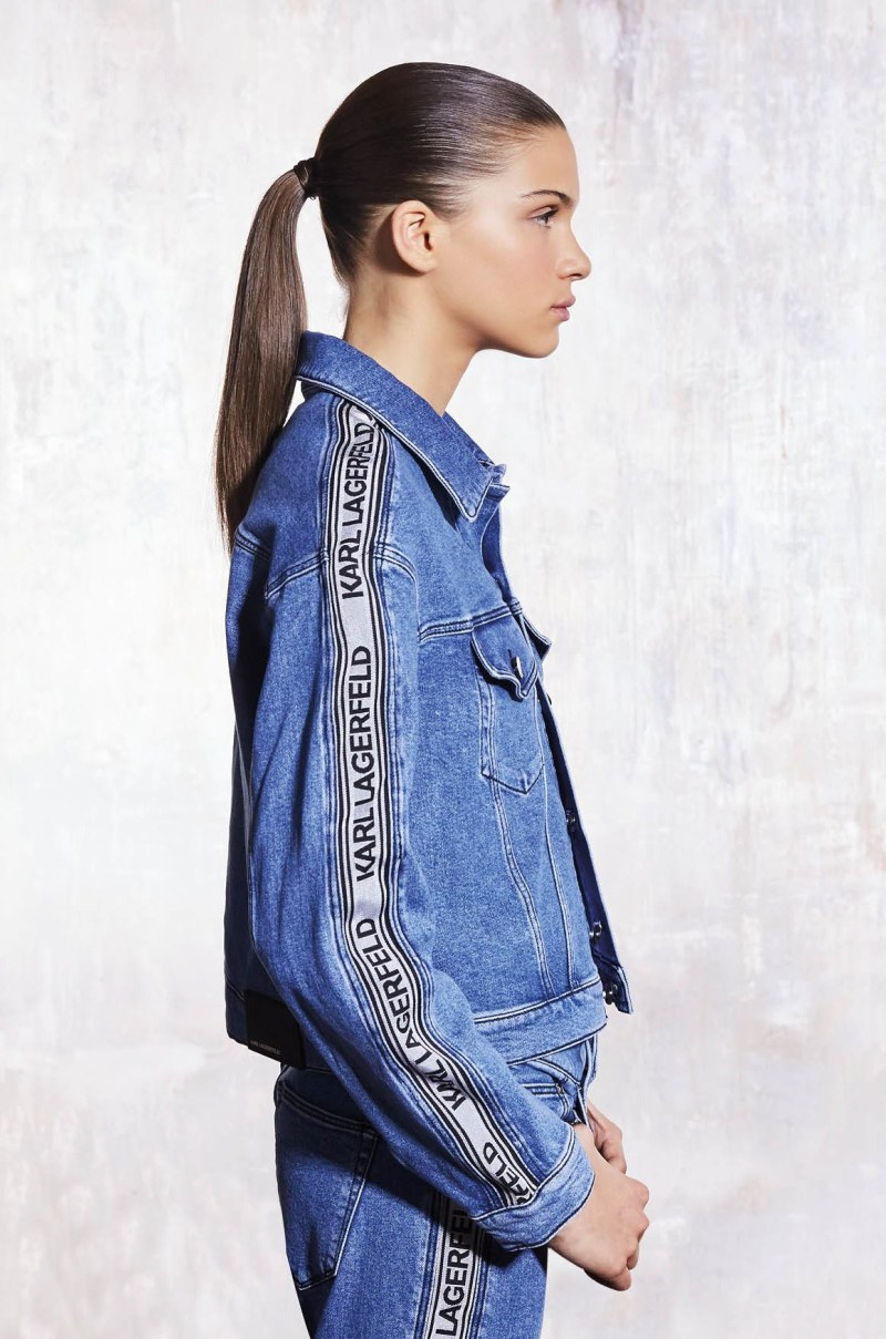 Karl Lagerfeld launches first denim collection