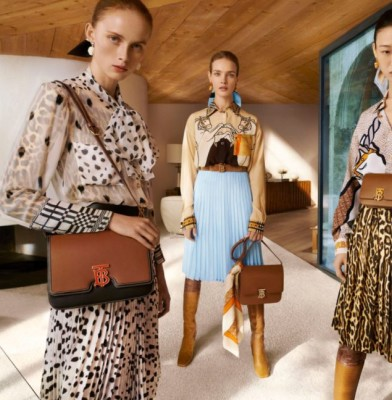 Riccardo Tisci unveils first campaign for Burberry