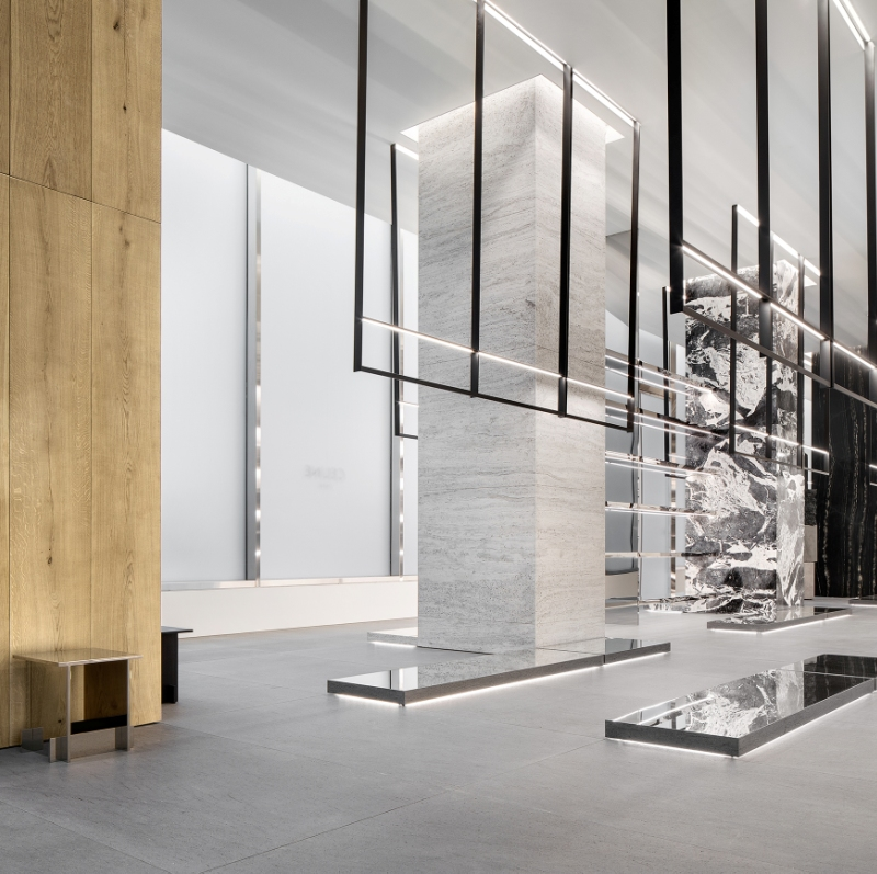 Hedi Slimane unveils new boutique concept for Celine