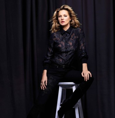 Kate Moss is once again the face of Nikkie Plessen\'s latest collection