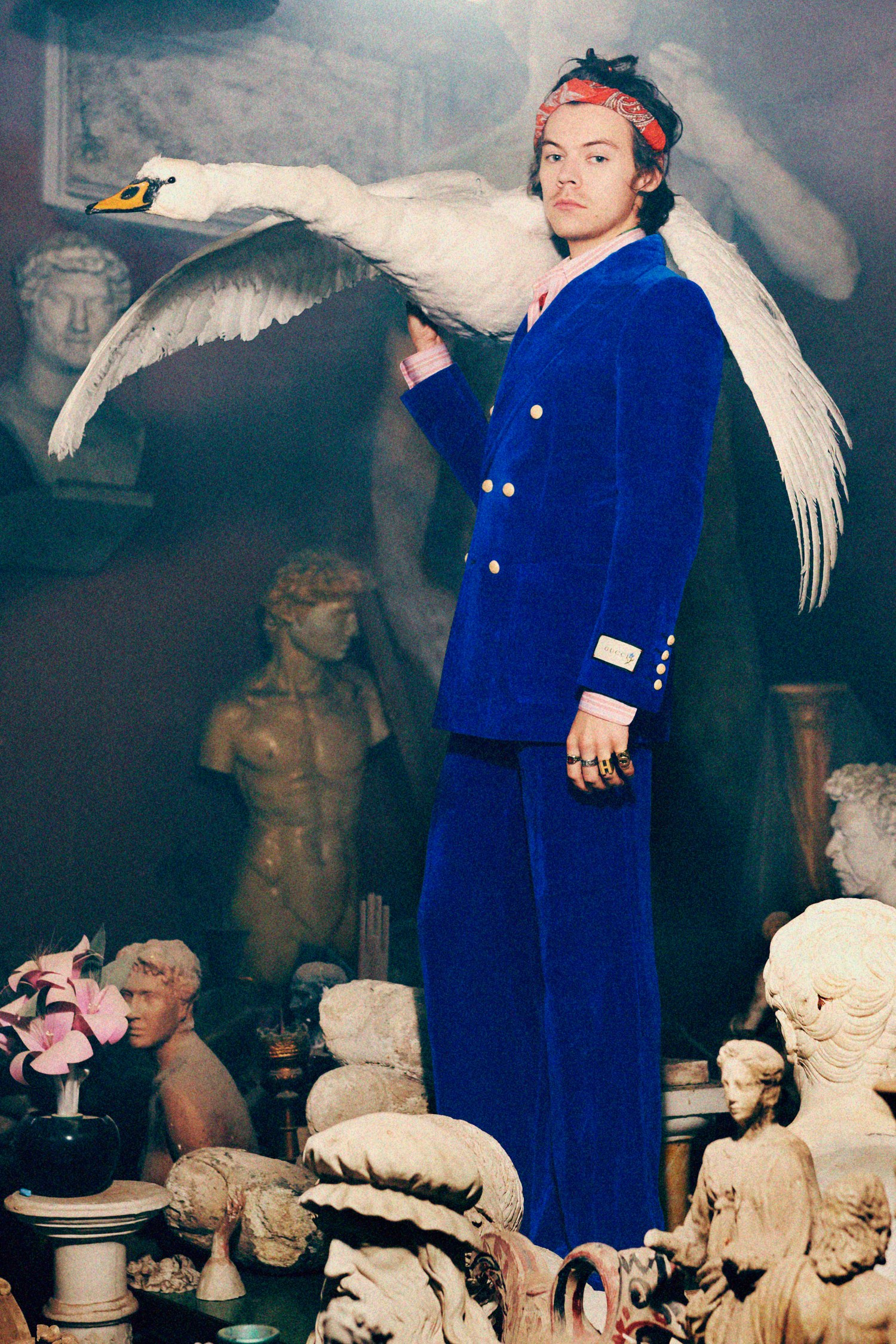 Harry Styles fronts Gucci men\'s Pre Fall campaign