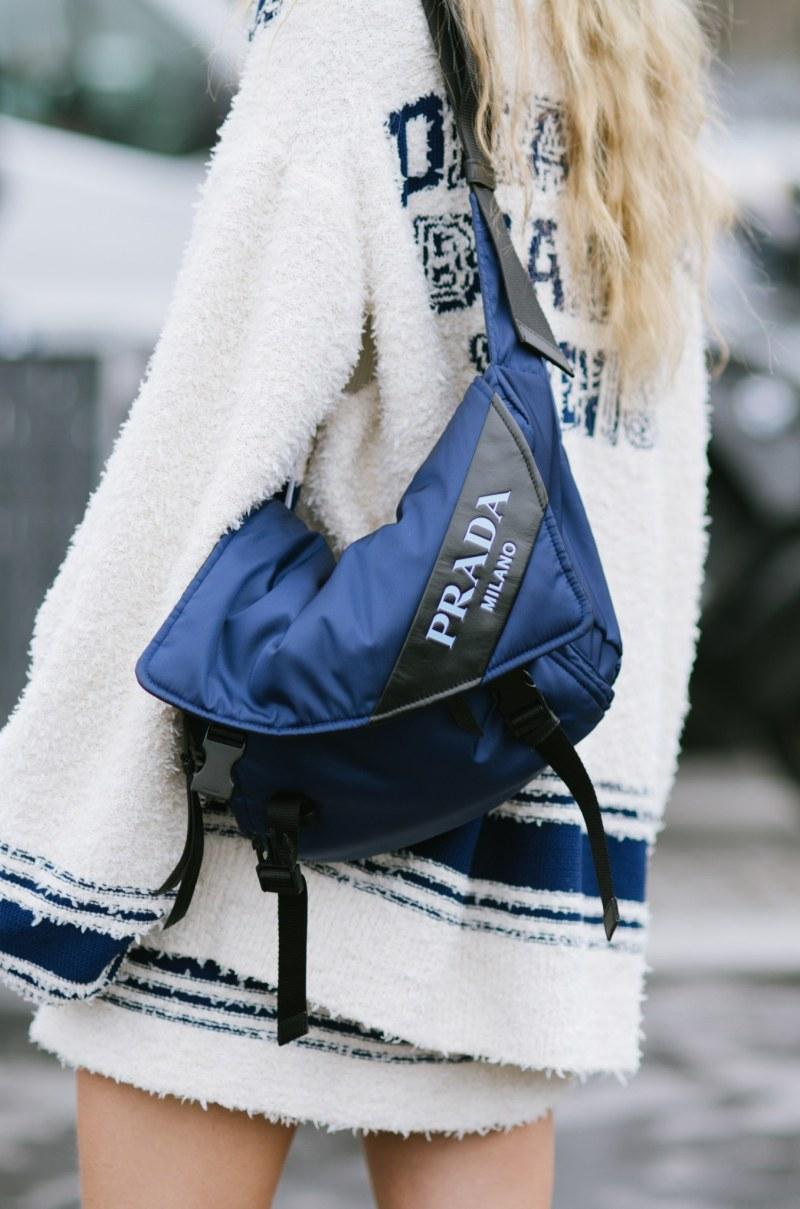 Prada launches sustainable version of its iconic nylon bag