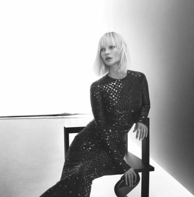 Giorgio Armani taps Kate Moss for its Latest Campaign