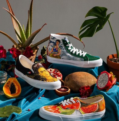 Vans launches shoe collection inspired by Frida Kahlo