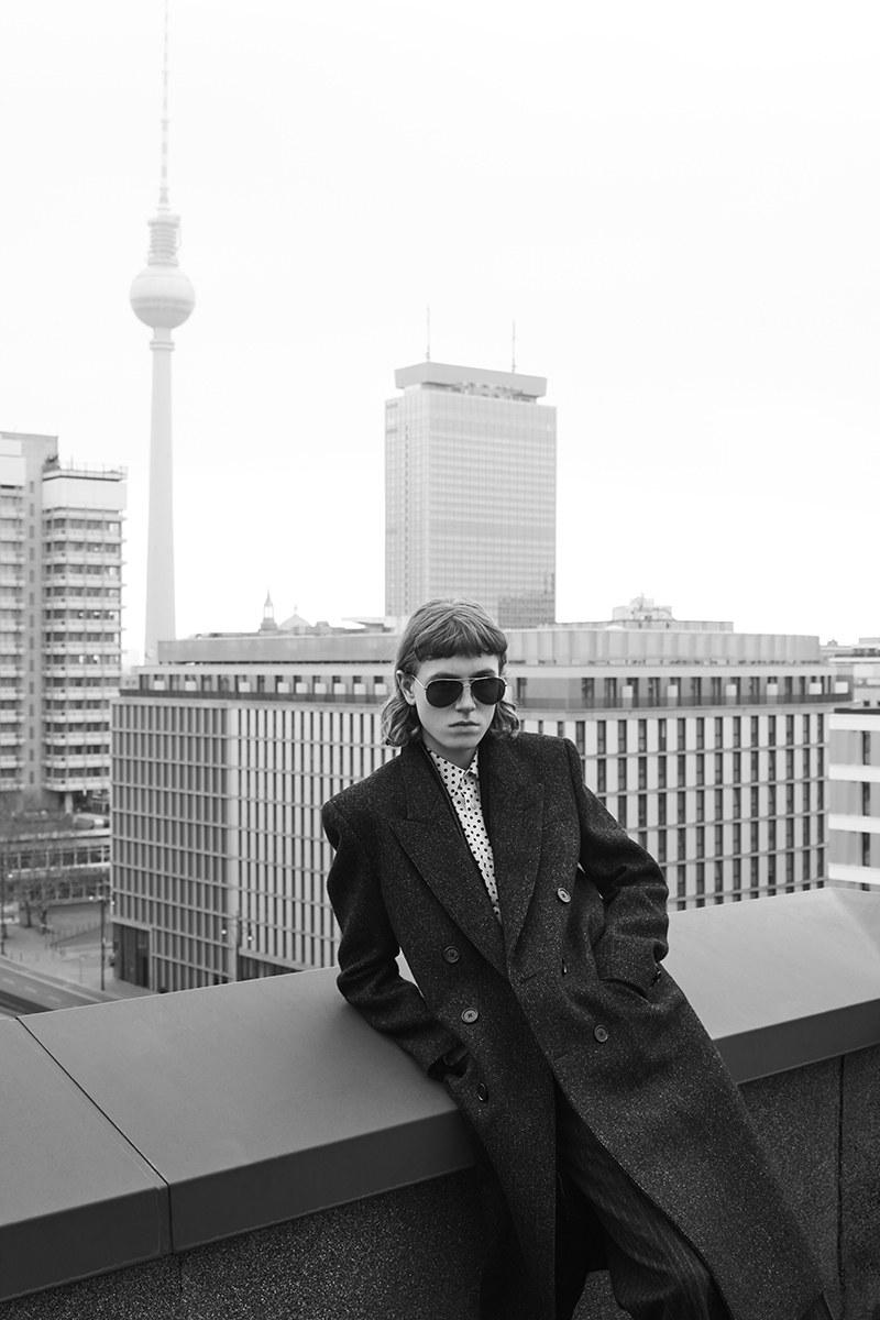 Hedi Slimane captures his new Celine collection in Berlin