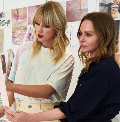 Taylor Swift and Stella McCartney are launching a  Merch collection