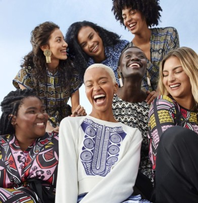 H & M collaborates for the first time with an African label