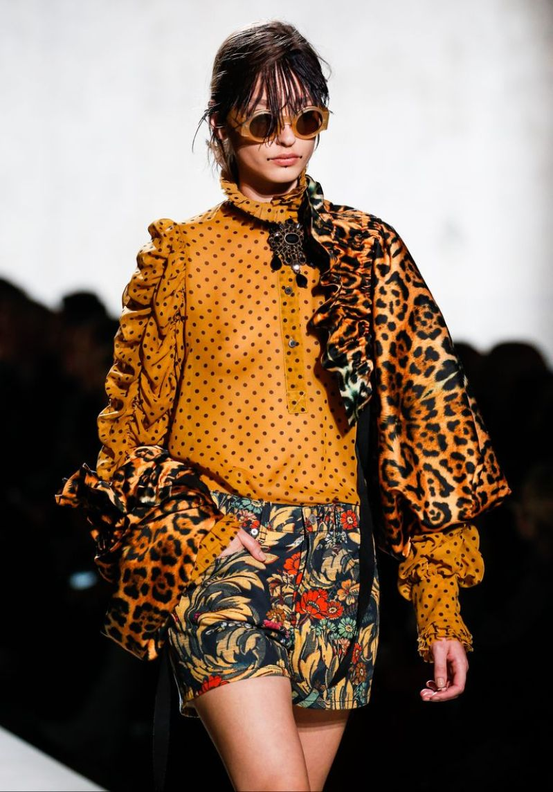 Dries Van Noten collaborates with Christian Lacroix at Paris Fashion Week