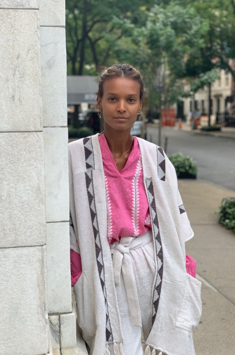 Liya Kebede and The Woolmark Company team up for travel collection