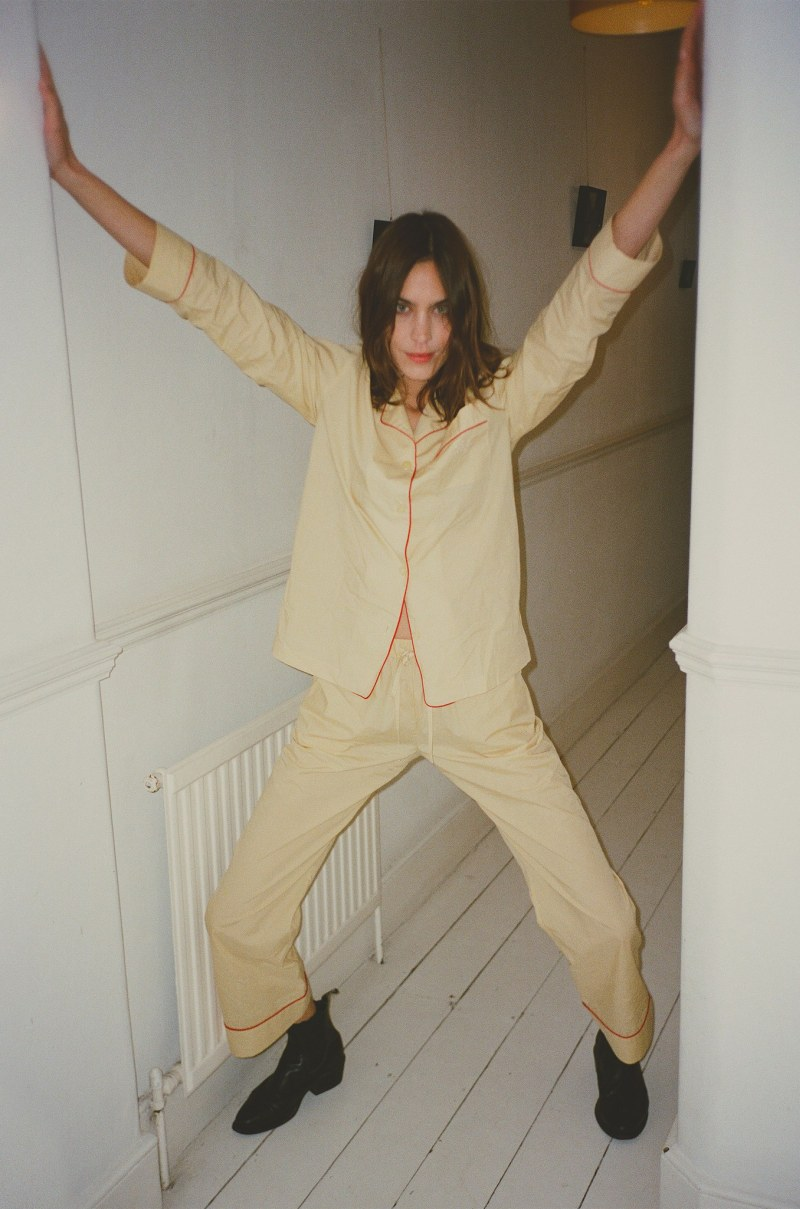 Alexa Chung launches Sleepwear
