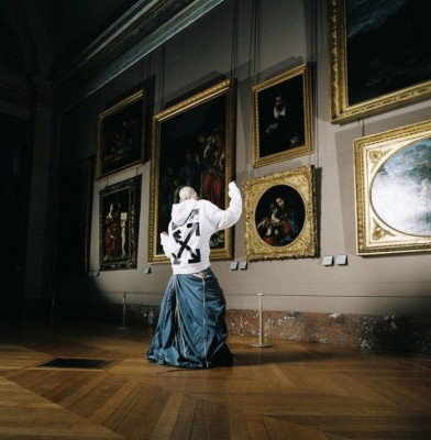 Off-White and Louvre Museum collaborate on Commemorative Capsule collection