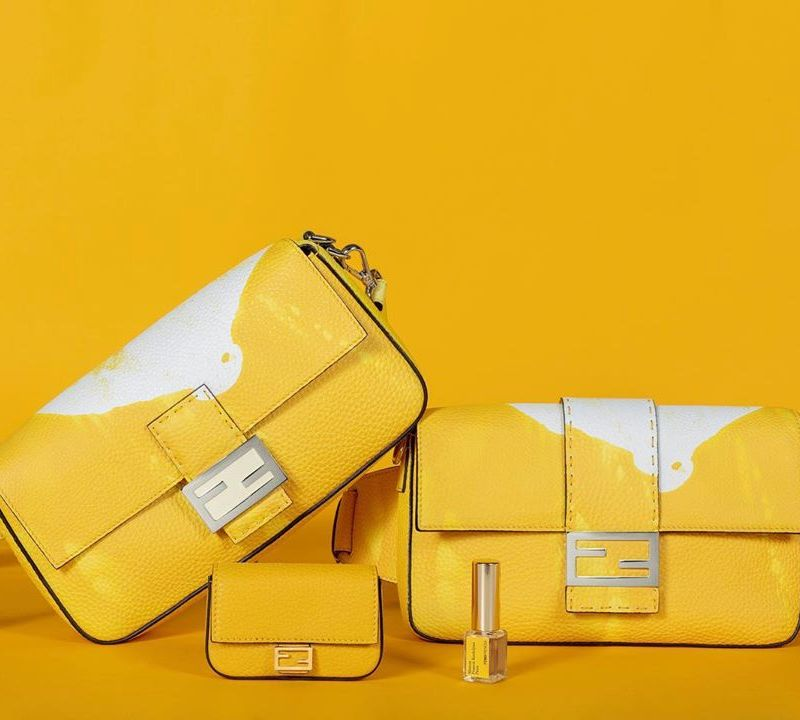Fendi launches Perfumed Leather Handbags