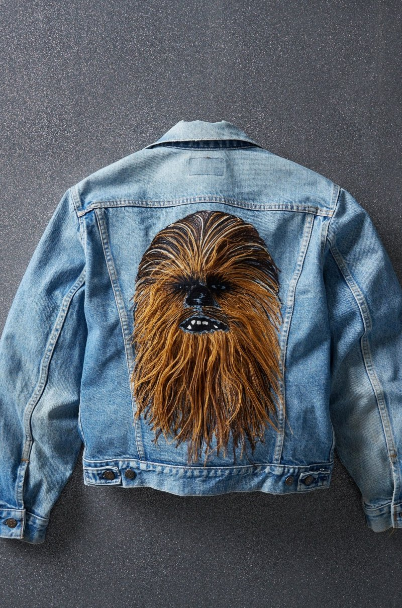 Levi\'s Launches Limited Edition Chewbacca Denim Trucker Jacket