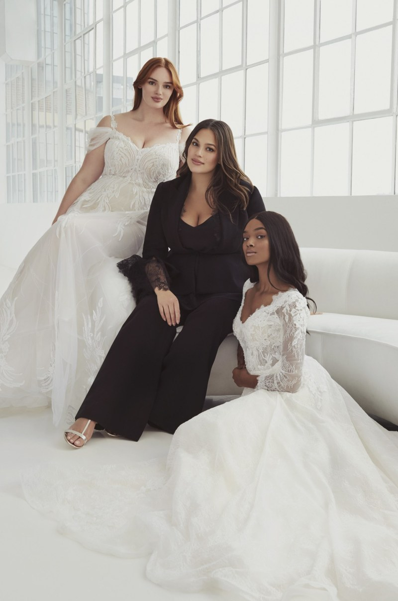 Ashley Graham launches plus-size wedding dress collection