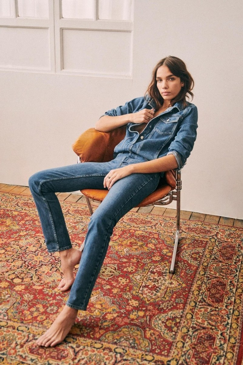 Sezane launches Eco-Friendly Denim Line