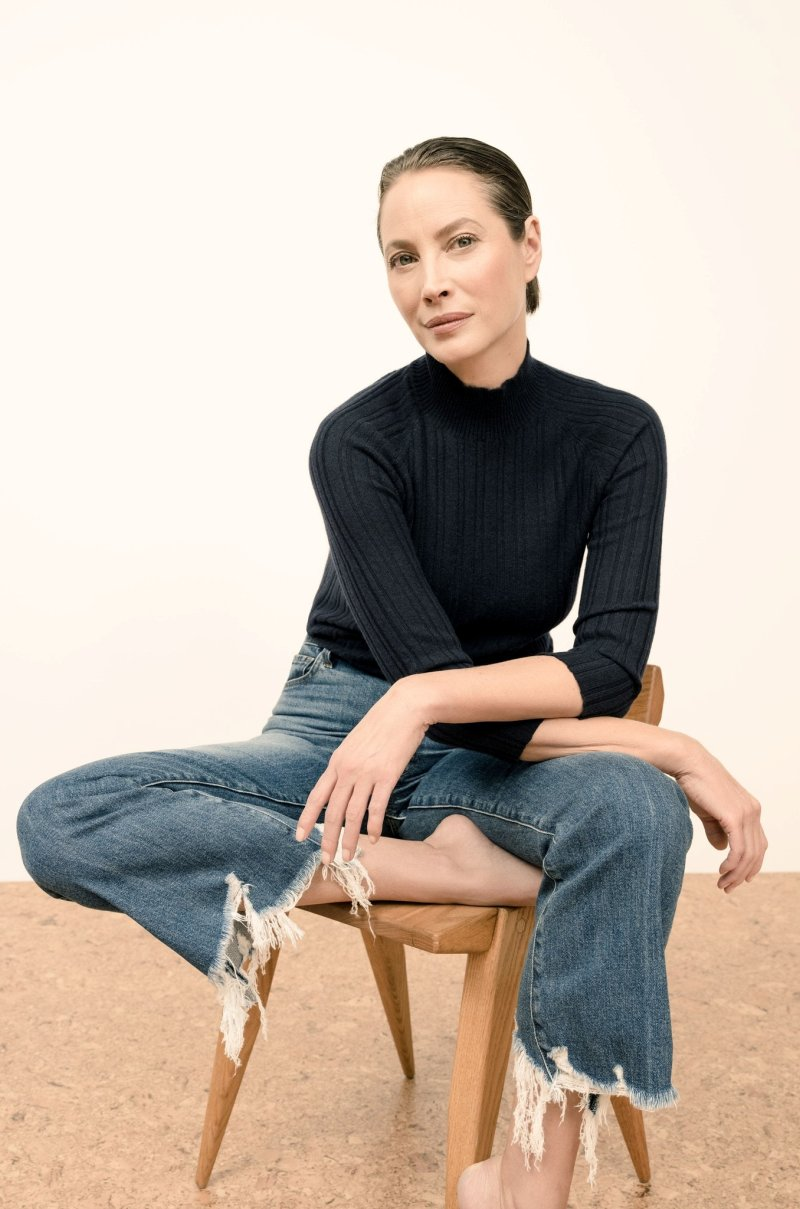 Christy Turlington is the new face of J Brand