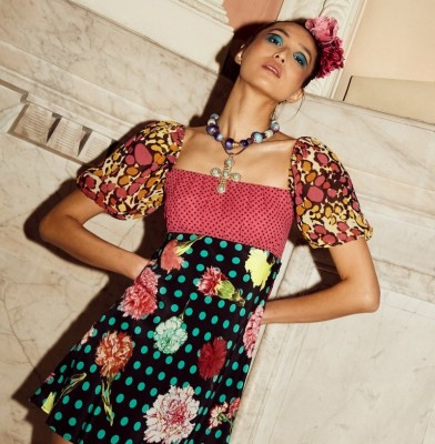 Rixo collaborates with Christian Lacroix for its AW20 Collection