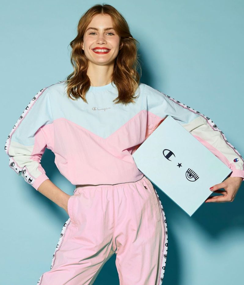 Chiara Ferragni and Champion launch sportswear collection