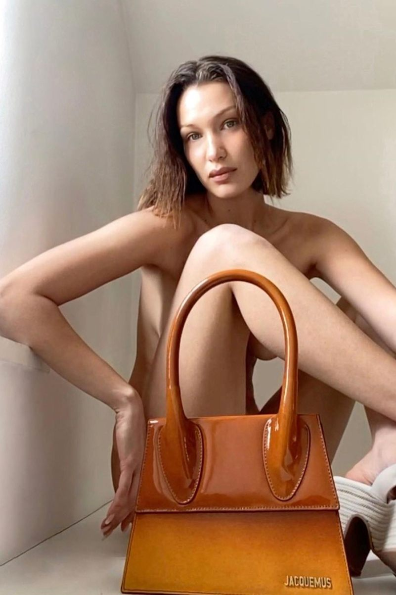 Bella Hadid shoots Jacquemus\' latest campaign via FaceTime