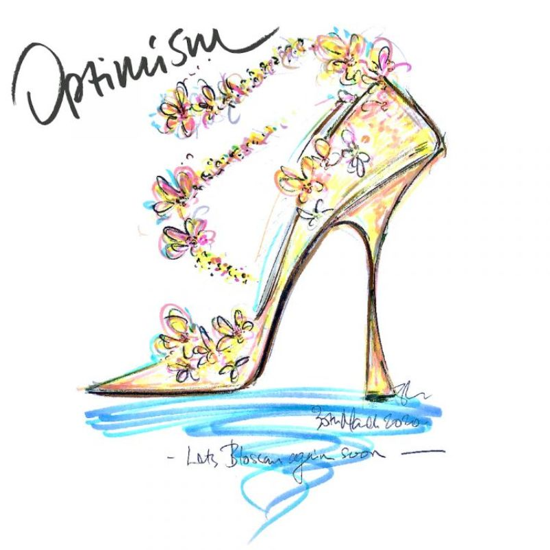 Jimmy Choo Launches Sketching Competition