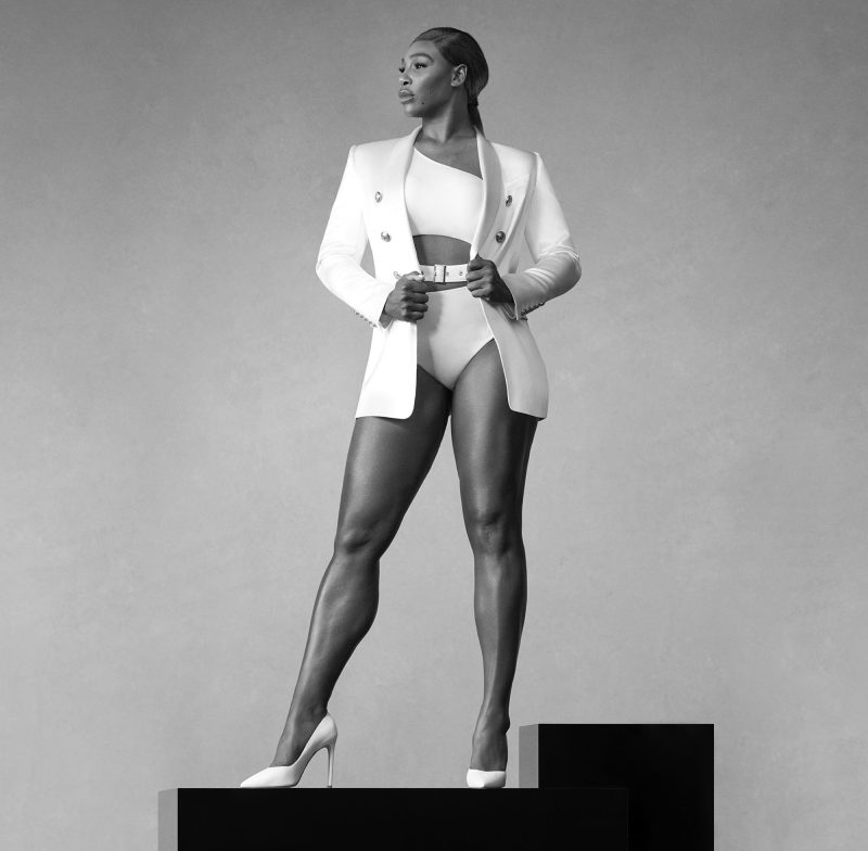 Serena Williams is the new Global Spokeswoman for Stuart Weitzman