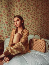 Fendi releases its new Peekaboo bag with Iris Law as its campaign face