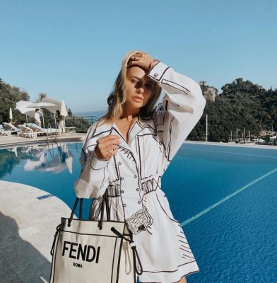 Fendi launches new California Sky collection in collaboration with Joshua Vides