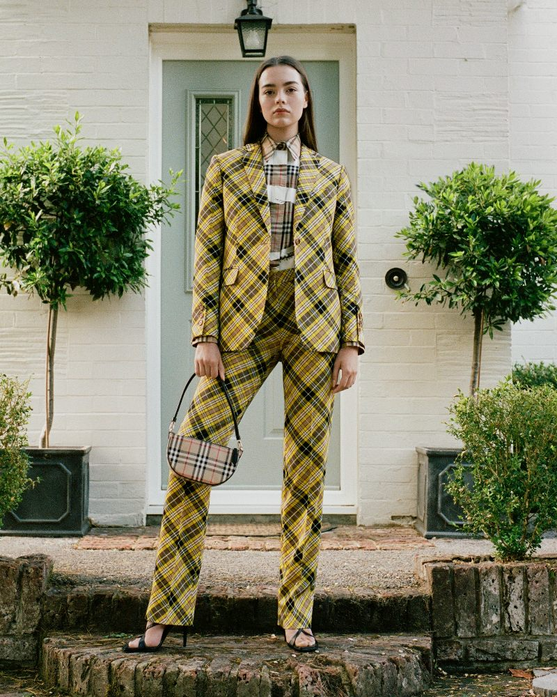 Burberry introduces its SS 2021 Pre-Collection with a lookbook modeled by its employees