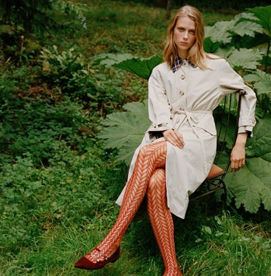 Barbour collaborates with Alexa Chung on Autumn/Winter collection