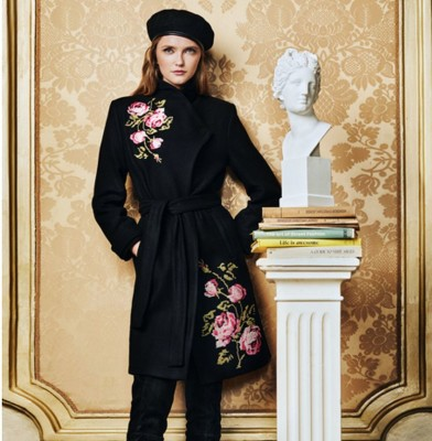 Desigual collaborates with Christian LaCroix for Autumn-Winter collection