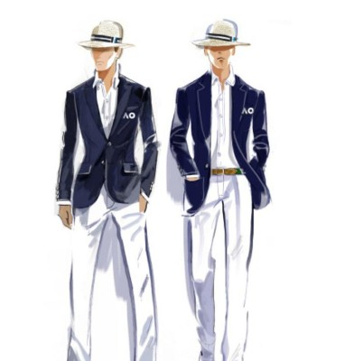 Ralph Lauren is the new official outfitter of the Australian Open