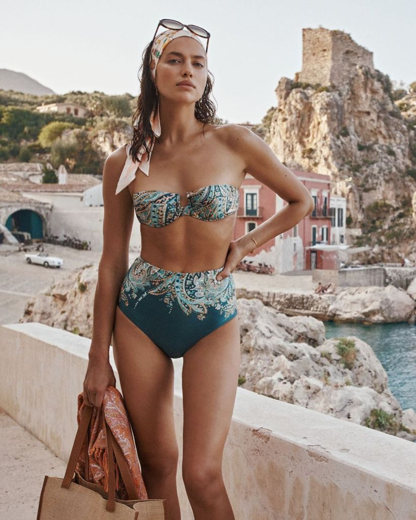 Zimmermann introduces Resort Swim 2021 collection featuring Irina Shayk