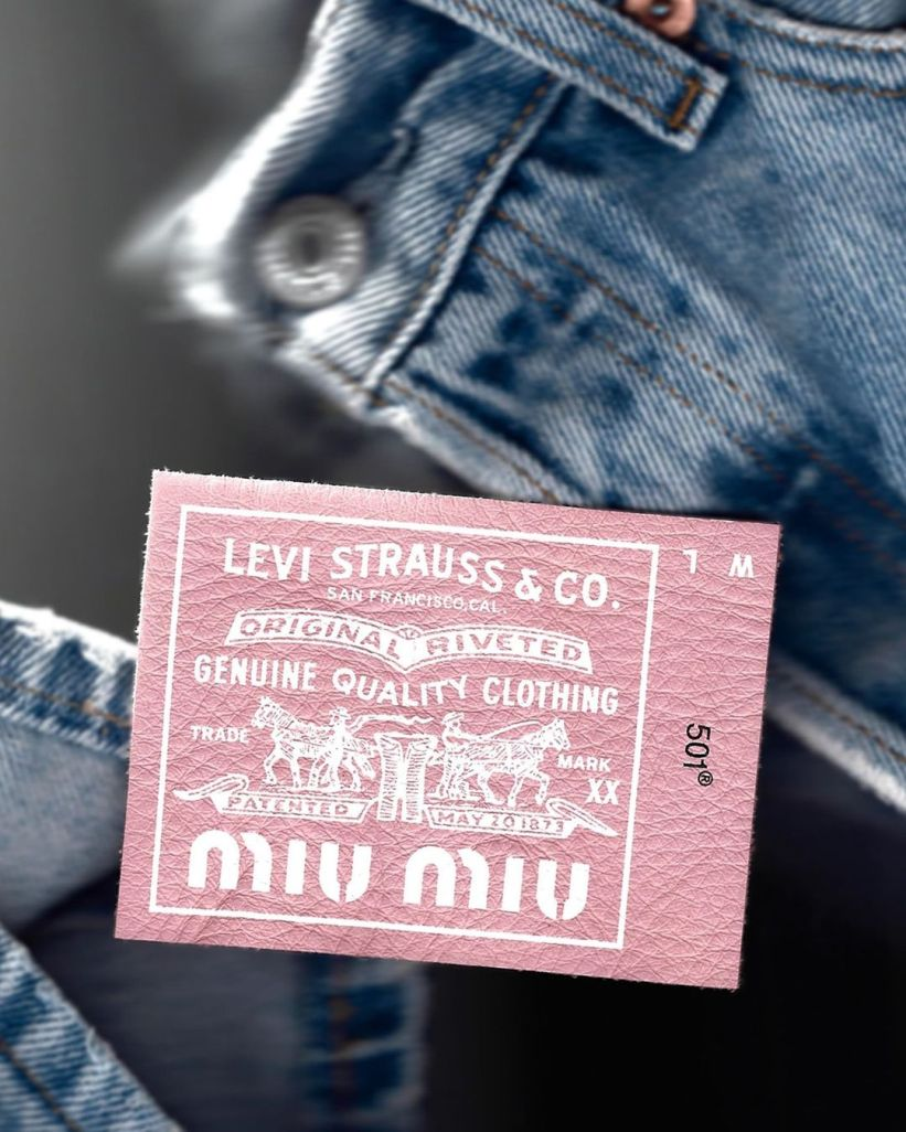 Miu Miu is partnering with Levi\'s
