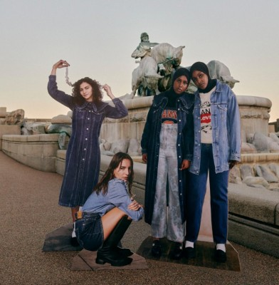Ganni and Levi\'s release second Sustainable Denim collection