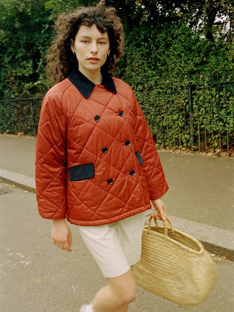 Barbour collaborates with Alexa Chung on Spring/Summer Equestrian-inspired collection
