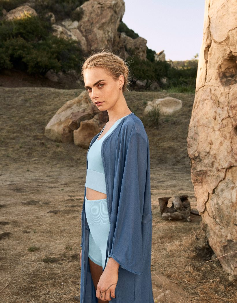 Cara Delevingne and PUMA collaborate on eco-conscious Yoga collection