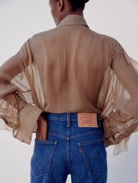 Valentino Collaborates With Levi\'s on reinterpretation of Flagship \'70s Jeans