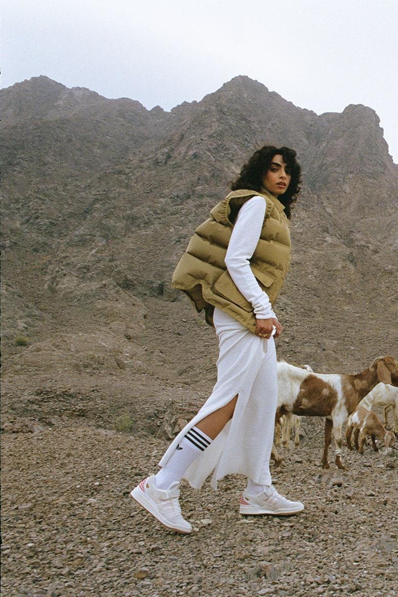 Adidas collaborates with Arwa Al Banawi