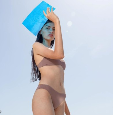 Girlfriend Collective jumps into Swimwear with GF Swim collection