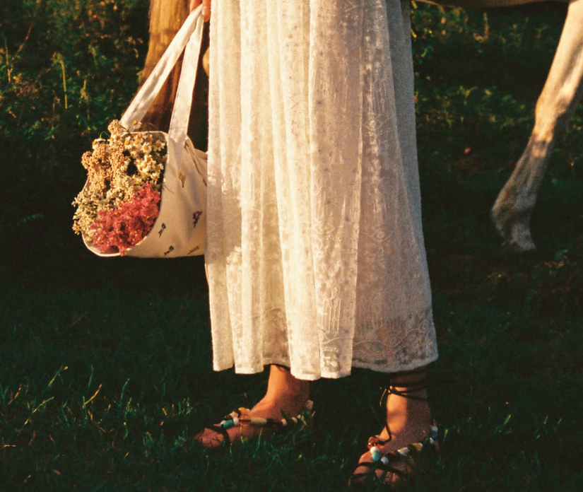Zara launches Flower Carrying Bag