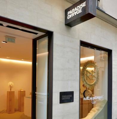 Ruslan Baginskiy opens first Paris Pop-Up Store