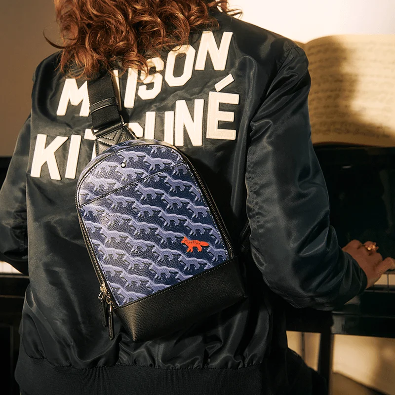 Montblanc and Maison Kitsune launch Leather Capsule collection