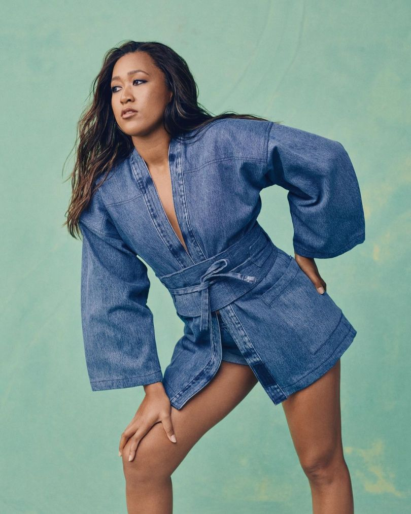 Naomi Osaka and Levi\'s team up for Sustainable Denim Collection