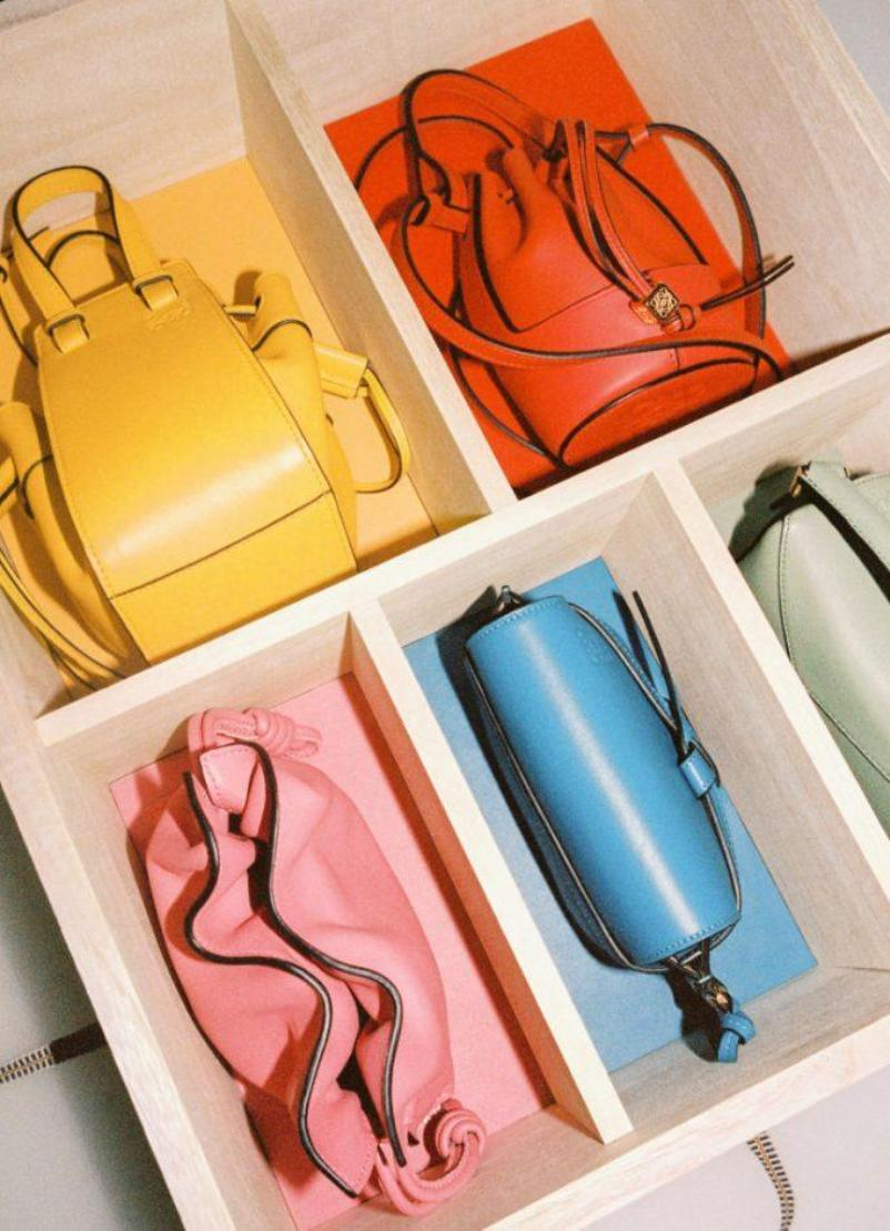 Loewe launches a collection of miniature signature handbags